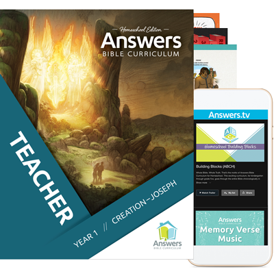 Answers Bible Curriculum for Homeschoolers