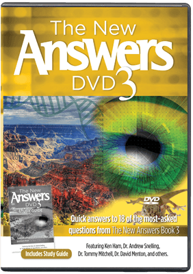 The New Answers 3 DVD