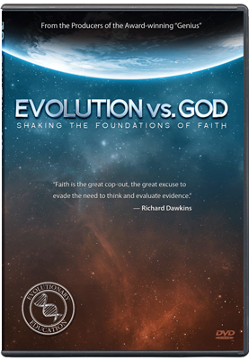 Powerful New Evolution vs. God DVD!