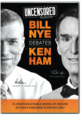 Uncensored Science: Bill Nye Debates Ken Ham: DVD