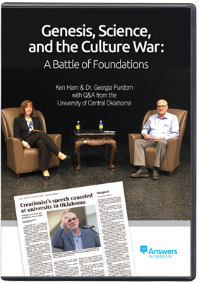 Genesis, Science, and the Culture War DVD Cover