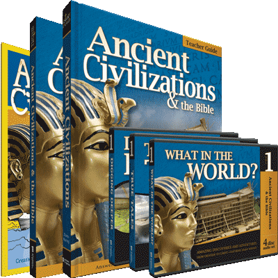 History Revealed: Ancient Civilizations & the Bible - Full Family Curriculum Pack