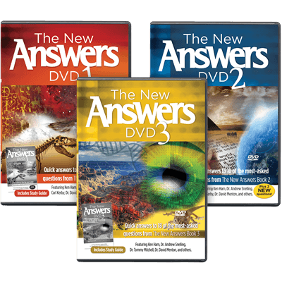 The New Answers DVDs