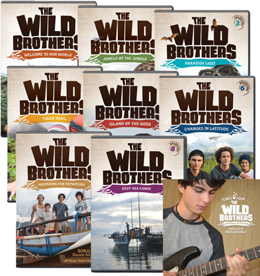 The Wild Brothers Adventures 1-8 + Soundtrack