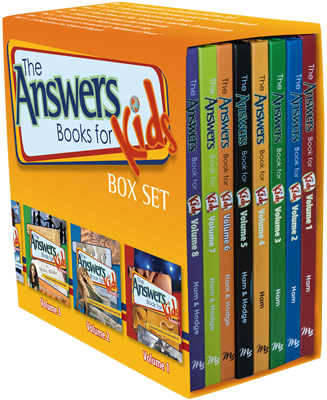 Answers Book for Kids Complete Set