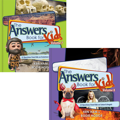 Answers Book for Kids Volumes 7 & 8