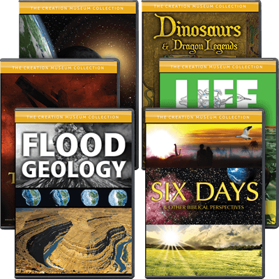Creation Museum Dvd Collection Answers In Genesis
