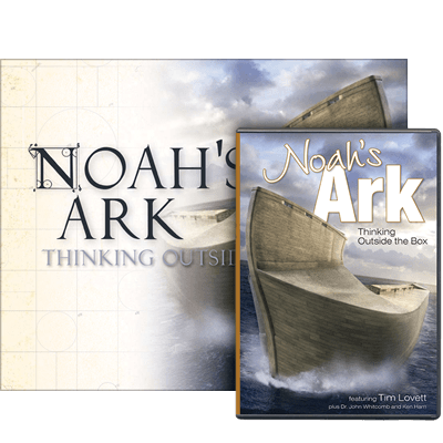 Noah's Ark: Thinking Outside the Box book and DVD