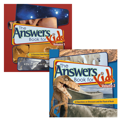 Answers Book for Kids 1 and 2