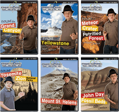 Awesome Science 6-DVD Set