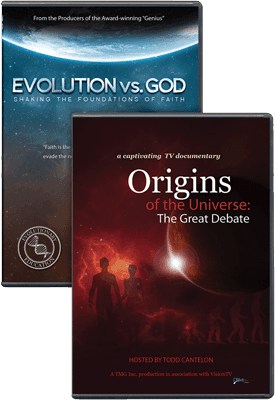 Evolution and Origins DVD Combo