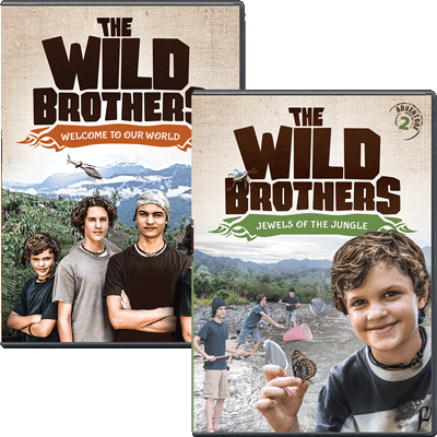 The Wild Brothers 2-DVD Combo
