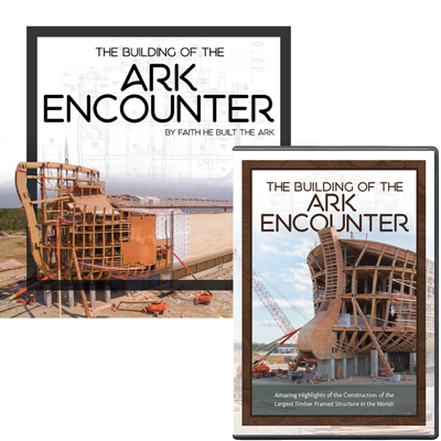 The Building of the Ark Encounter Book & DVD