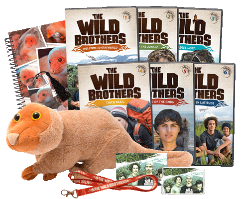 The Wild Brothers Gift Pack 1-6
