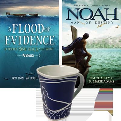 Flood of Evidence, Noah & Ark Mug Combo