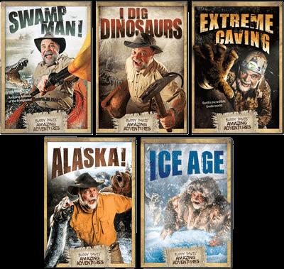 Buddy Davis' Amazing Adventure 5-DVD Combo