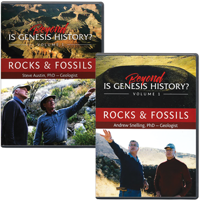 Beyond Is Genesis History? Vol. 1 Rocks and Fossils Set