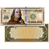 Million Dollar Bill: 100 Pack