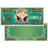 Kids Million Dollar Bill: 100 Pack