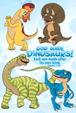 Baby Dinosaurs Poster