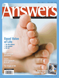 Answers Magazine, Single Issue - Vol. 2 No. 1