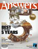 Answers Magazine, Single Issue - Vol. 6 No. 3