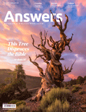 Answers Magazine, Single Issue - Vol. 12 No. 1