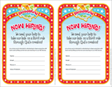 IncrediWorld VBS: Volunteer Recruitment Fliers