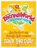 IncrediWorld VBS: Save the Date Postcards