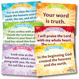 IncrediWorld VBS: Primary Memory Verse Posters: NKJV