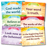 IncrediWorld VBS: Toddler Memory Verse Posters : NKJV