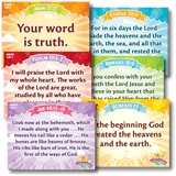 IncrediWorld VBS: Junior Memory Verse Posters: KJV