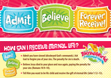 IncrediWorld VBS: Admit Bookmark