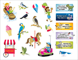 IncrediWorld VBS: Daily Phrase Sticker Sheet