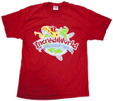 IncrediWorld VBS: T-Shirt: Youth XL