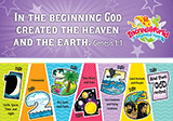 IncrediWorld VBS: Days of Creation Bookmark: KJV