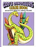 God's Dinosaurs Coloring Book