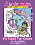 A is for Adam - Coloring Book