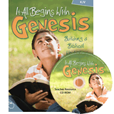 It All Begins with Genesis Teacher Resources (KJV): KJV
