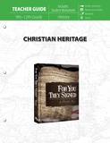 Christian Heritage Teacher Guide