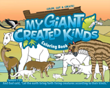 My Giant Created Kinds Coloring Book