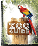 Zoo Guide: Mini Spiral-Bound