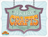 Gold Rush VBS: 24-Karat Crafts Station Sign