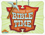 Gold Rush VBS: Discovery Mine Bible Time Station Sign
