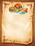 Gold Rush VBS: Promotional Fliers: 10 Fliers