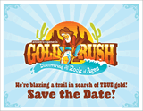 Gold Rush VBS: Postcards: Save the Date!
