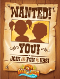 Gold Rush VBS: Postcards: Invitation