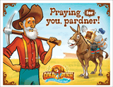 Gold Rush VBS: Postcards: Praying for You!