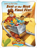Gold Rush VBS: Postcards: Closing Program Invitation