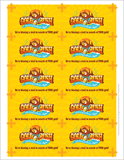 Gold Rush VBS: Promotional Cards: Pack of 100
